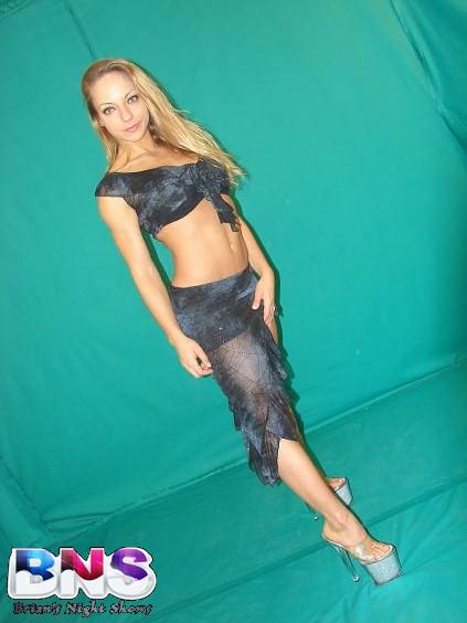 stripteaseur Jessie G